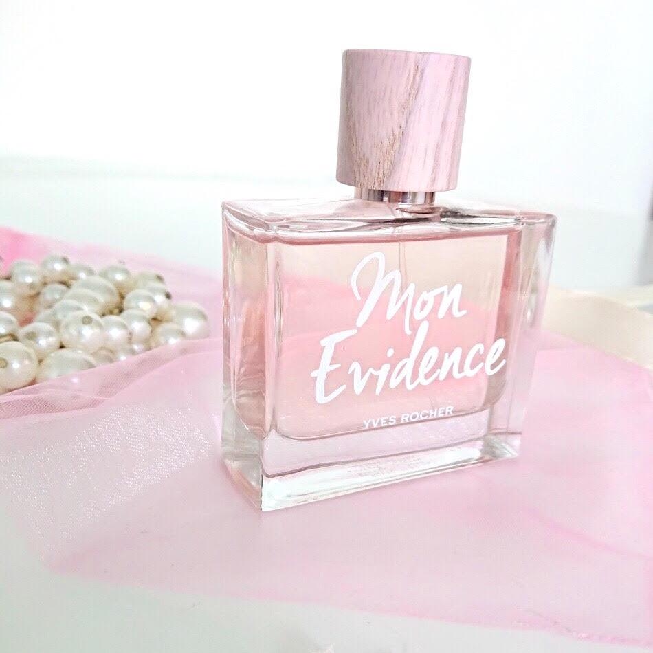 yves rocher parfum mon evidence blog dezire