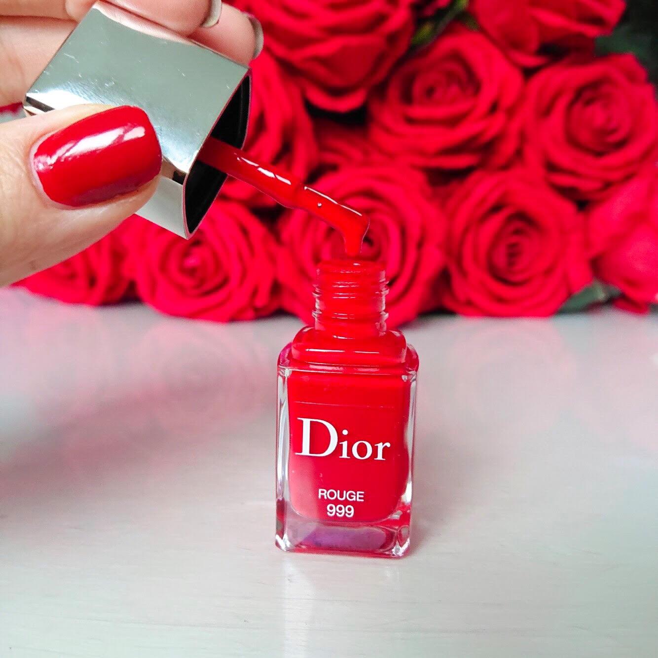 dior lak na nechty cerveny notino lesk