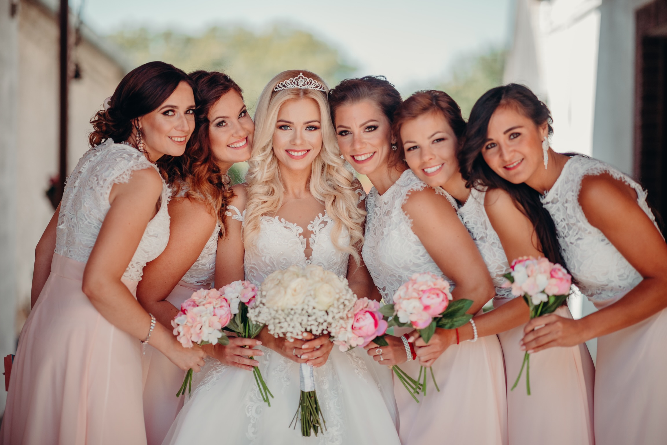 druzicky svadba nevesta
