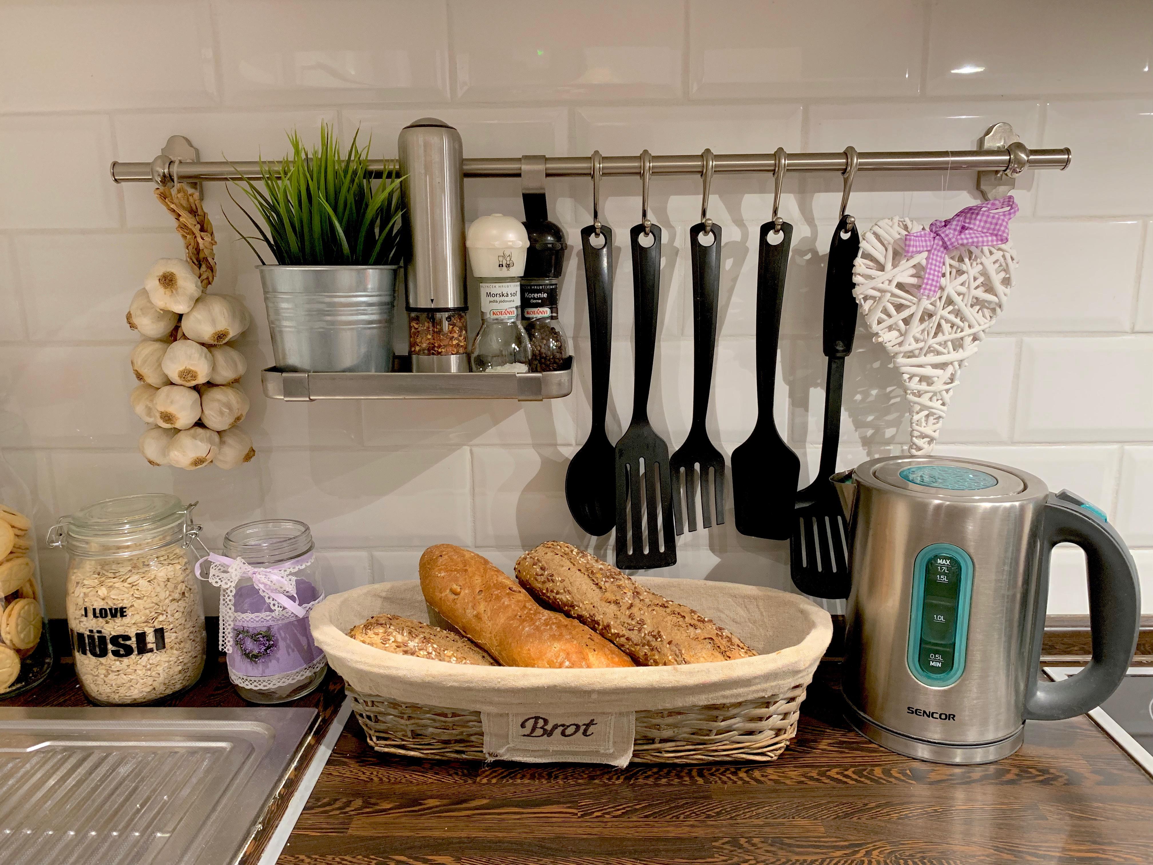 Kuchyňa čerstvé pečivo bio