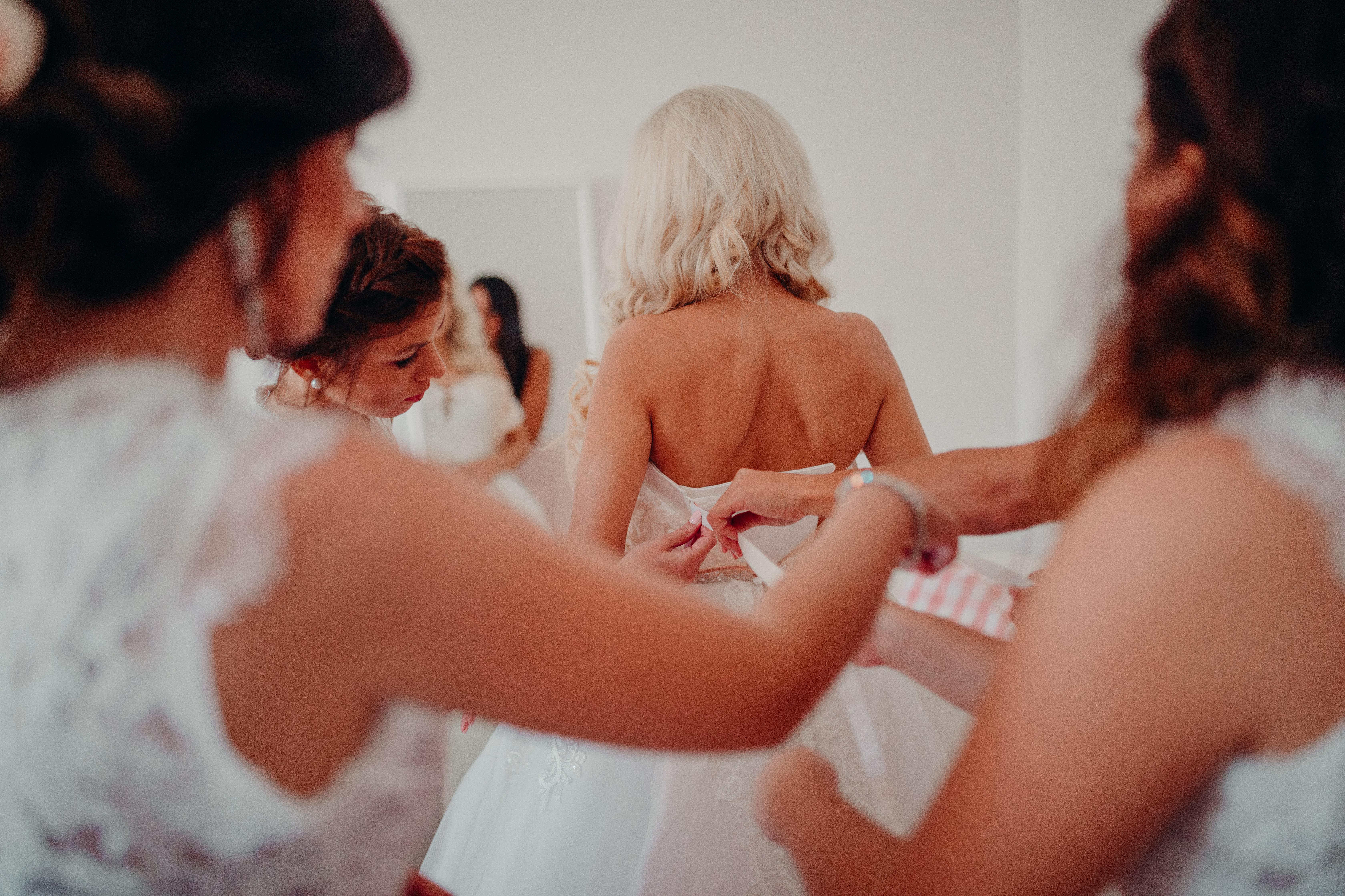 druzičky druzickovske saty svadba nevesta